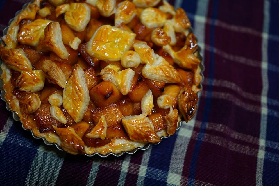 木の葉のアップルパイ